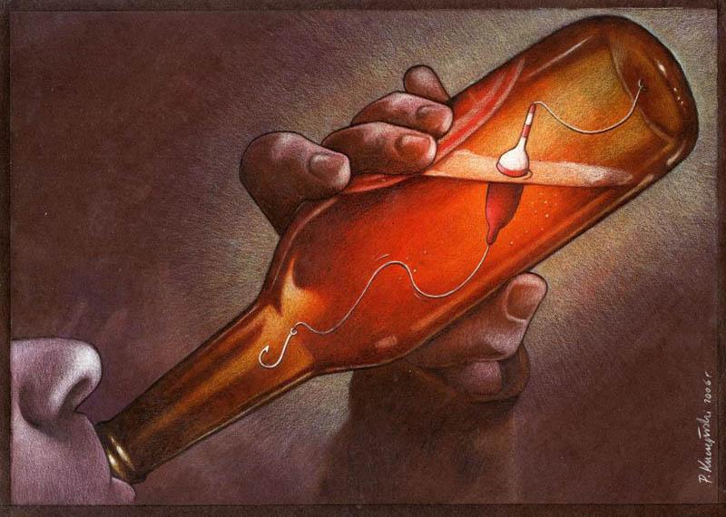 artwork satire cartoonist pawel kuczynski polish 11 Brilliant Satirical Artwork by Pawel Kuczynski