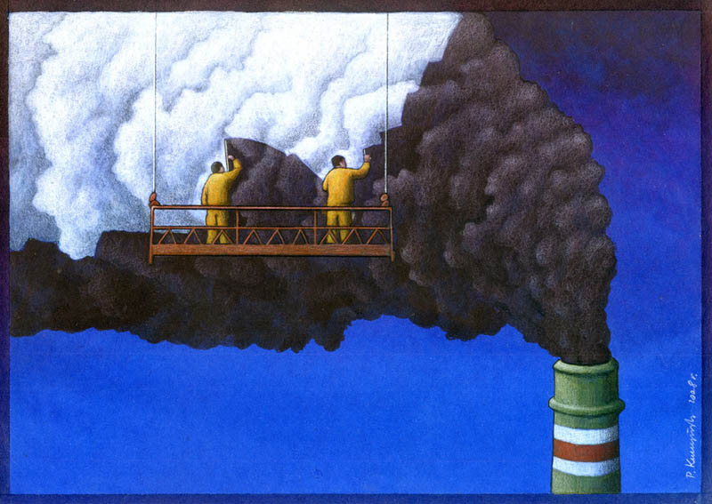 artwork satire cartoonist pawel kuczynski polish 14 Brilliant Satirical Artwork by Pawel Kuczynski
