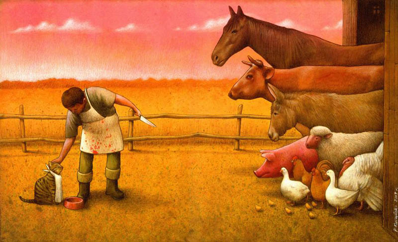 artwork satire cartoonist pawel kuczynski polish 2 Brilliant Satirical Artwork by Pawel Kuczynski