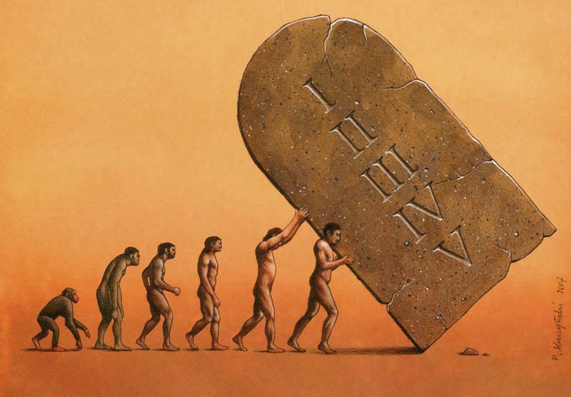 artwork satire cartoonist pawel kuczynski polish 20 Brilliant Satirical Artwork by Pawel Kuczynski