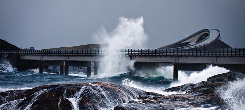 atlantic road norway 1 The Atlantic Road: Norways Construction of the Century