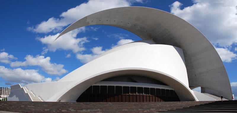 auditorio de tenerife pano 25 Incredible Concert Halls Around the World