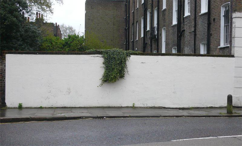 banksy bush trim street art 1 10 Latest Artworks from Banksy