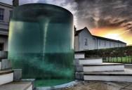 Amazing Vortex Water Sculpture by William Pye