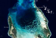 Picture of the Day: The Cocos (Keeling) Islands from Space