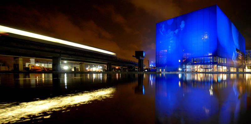 copenhagen concert hall by night 25 Incredible Concert Halls Around the World