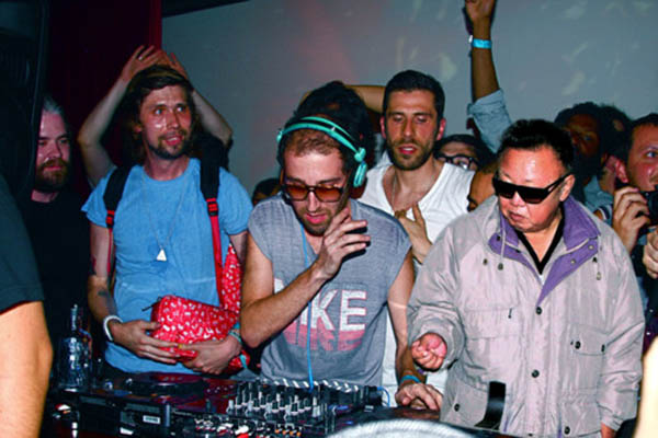 dj kim jong il funny picture photoshop 2 15 Famous People That Are Also Superstar DJs