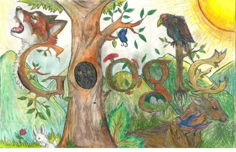 doodle 4 google 2012 winners grade 8 9 6 The Top 50 Google Doodle Contest Winners Gallery