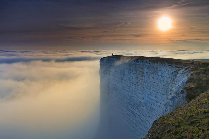 edge of the world beach head chalk cliff southern england The Top 75 Pictures of the Day for 2012