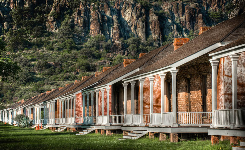 fort davis national historic site texas Incredible Architecture Photography by Dave Wilson