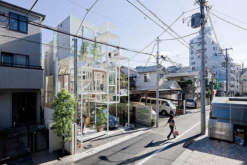 fully transparent house tokyo japan sou fujimoto architects 1 The Fully Transparent House in Tokyo
