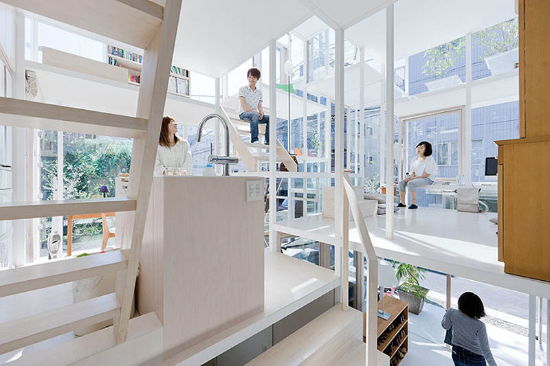 fully transparent house tokyo japan sou fujimoto architects 10 The Fully Transparent House in Tokyo