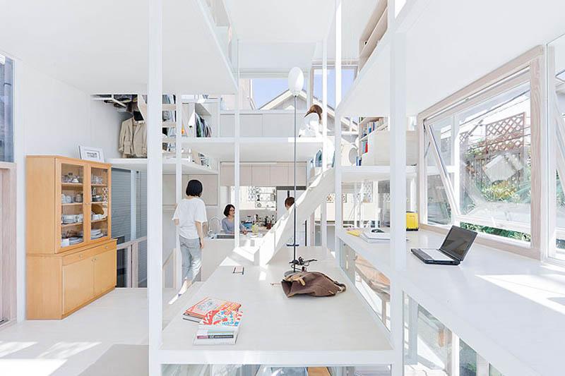 fully transparent house tokyo japan sou fujimoto architects 14 The Fully Transparent House in Tokyo