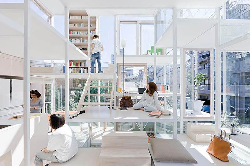 fully transparent house tokyo japan sou fujimoto architects 4 The Fully Transparent House in Tokyo