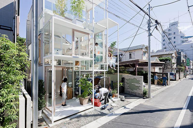 fully transparent house tokyo japan sou fujimoto architects 9 The Fully Transparent House in Tokyo