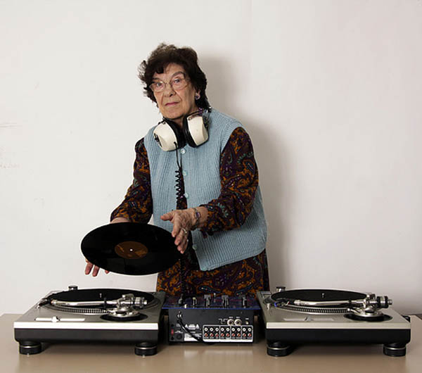 funny dj granny grandma grandmother picture 1 15 Famous People That Are Also Superstar DJs