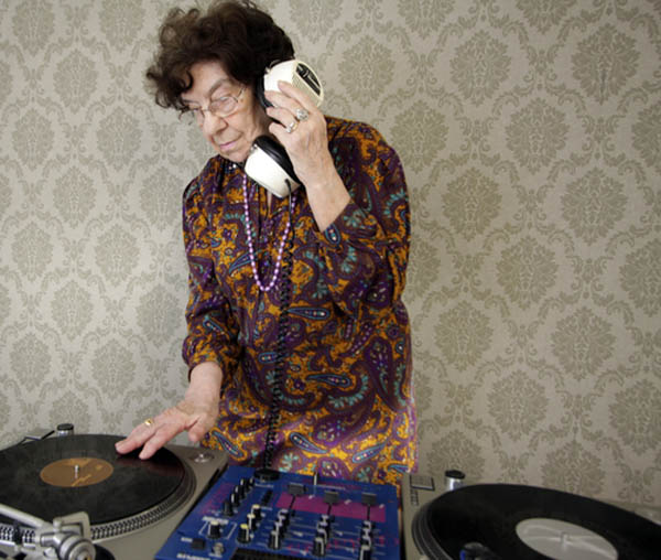 funny dj granny grandma grandmother picture 2 15 Famous People That Are Also Superstar DJs