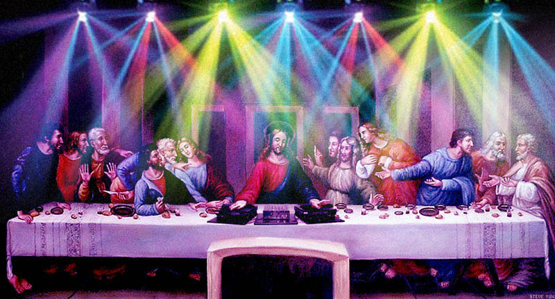 funny dj jesus photoshop picture 1 15 Famous People That Are Also Superstar DJs
