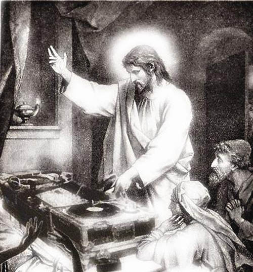 funny dj jesus photoshop picture 2 15 Famous People That Are Also Superstar DJs
