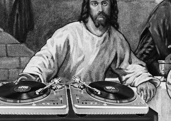 funny dj jesus photoshop picture 3 15 Famous People That Are Also Superstar DJs