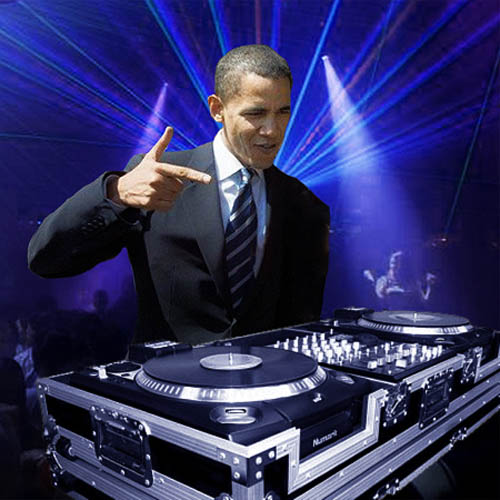 funny dj obama picture photoshop 2 15 Famous People That Are Also Superstar DJs