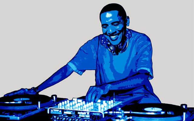 funny dj obama picture photoshop 3 15 Famous People That Are Also Superstar DJs