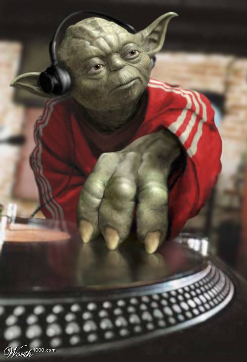 funny dj picture yoda photoshop 15 Famous People That Are Also Superstar DJs