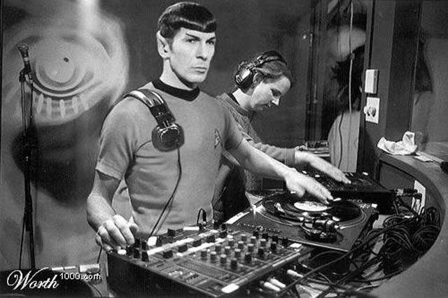 funny dj spock photo picture photoshop 15 Famous People That Are Also Superstar DJs