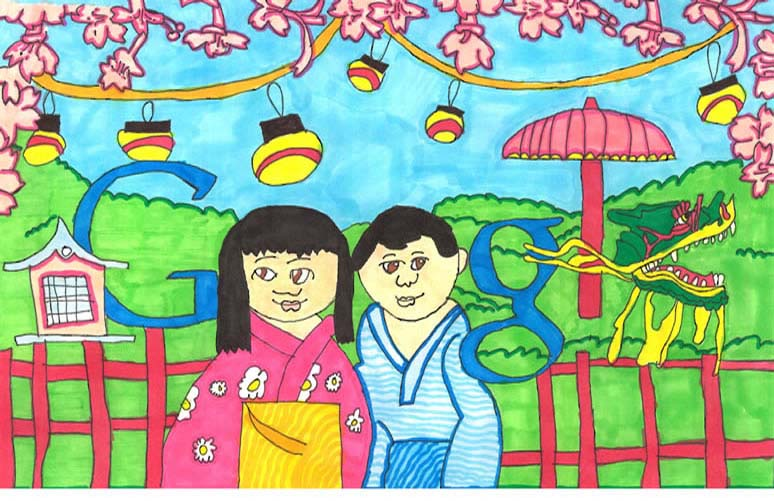 google doodle winners k 3 2012 8 The Top 50 Google Doodle Contest Winners Gallery