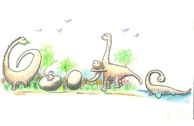 google doodle winners k 3 2012 9 The Top 50 Google Doodle Contest Winners Gallery
