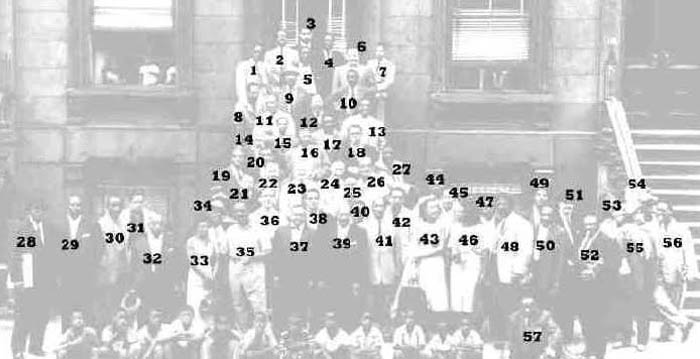 great day in harlem 1958 jazz legends identified key names listed The Most Epic Group Photos You Will See Today