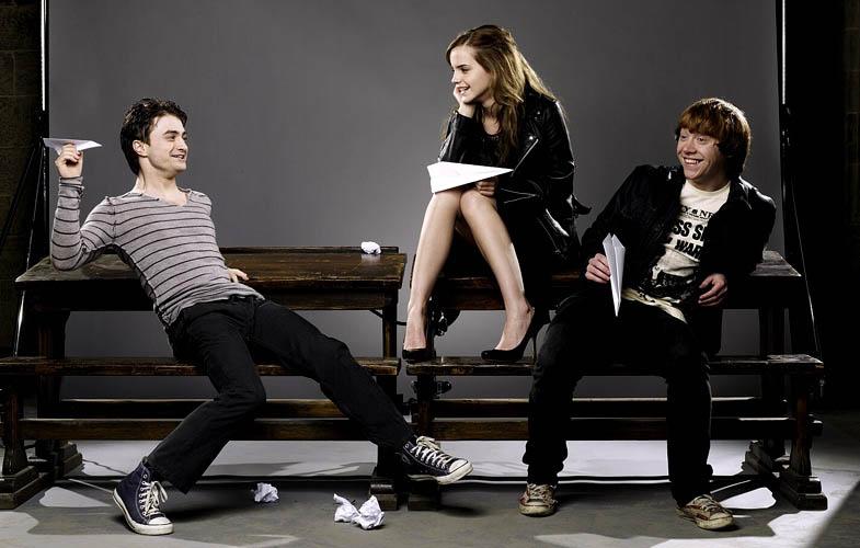 harry potter cast empire shoot Actors Revisit Their Famous Roles in Normal Attire