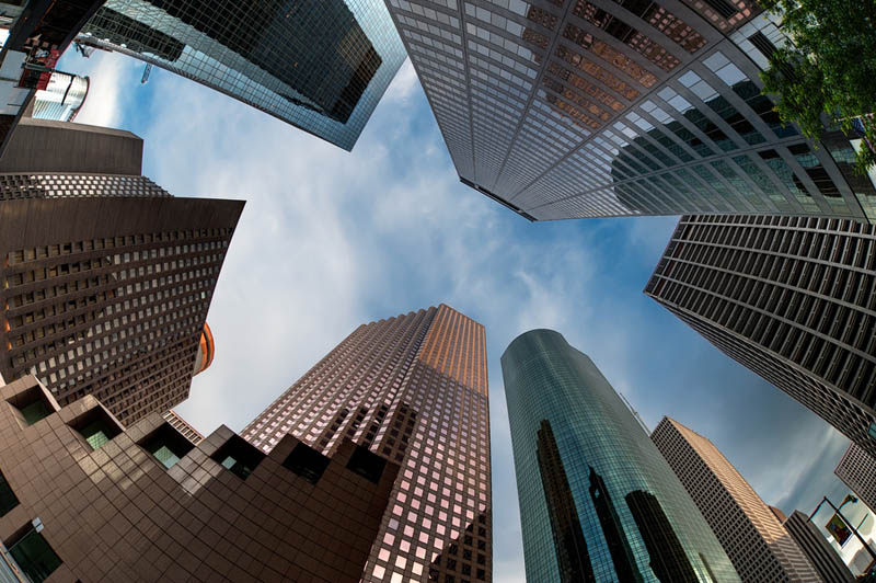 houston skyline Incredible Architecture Photography by Dave Wilson