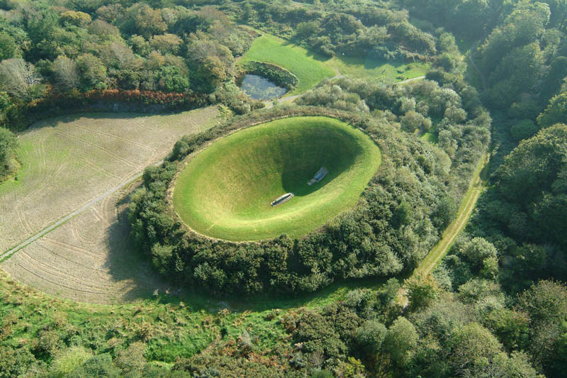 james turrell irish sky garden crater The Top 100 Pictures of the Day for 2012