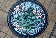 The Beautiful Manhole Cover Art of Japan