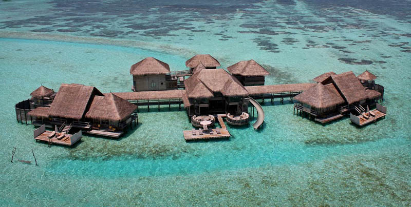maldives resorts on the water stilt houses 6 The Amazing Stilt Houses of Soneva Gili in the Maldives