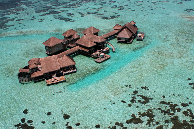 maldives resorts on the water stilt houses 7 The Amazing Stilt Houses of Soneva Gili in the Maldives