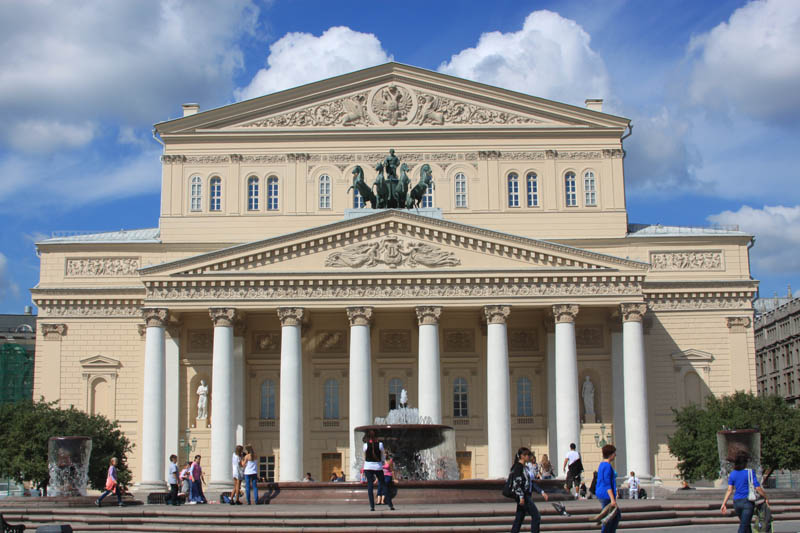 moscow bolshoi theatre 2011 25 Incredible Concert Halls Around the World