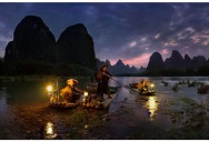 Picture of the Day: Night Fishing in Yangshuo, China