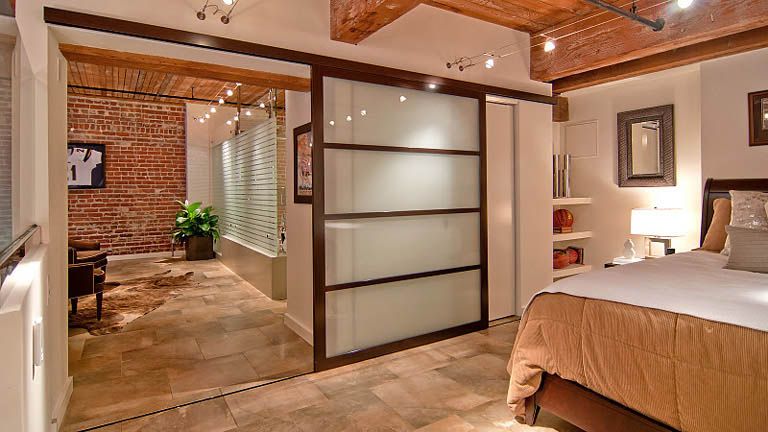 open concept hard loft exposed brick south beach san francisco 355 bryant 11 Stunning Open Concept Loft with Exposed Brick