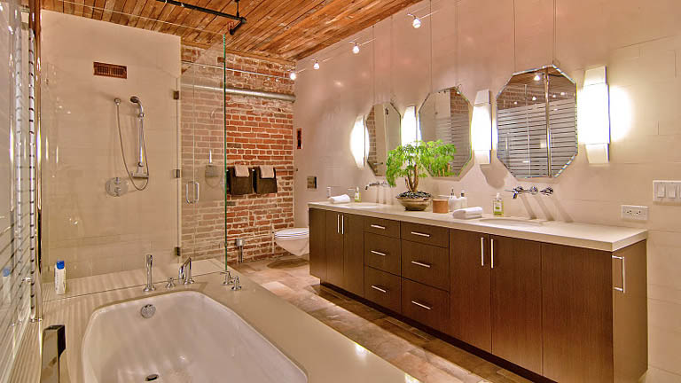 open concept hard loft exposed brick south beach san francisco 355 bryant 12 Stunning Open Concept Loft with Exposed Brick