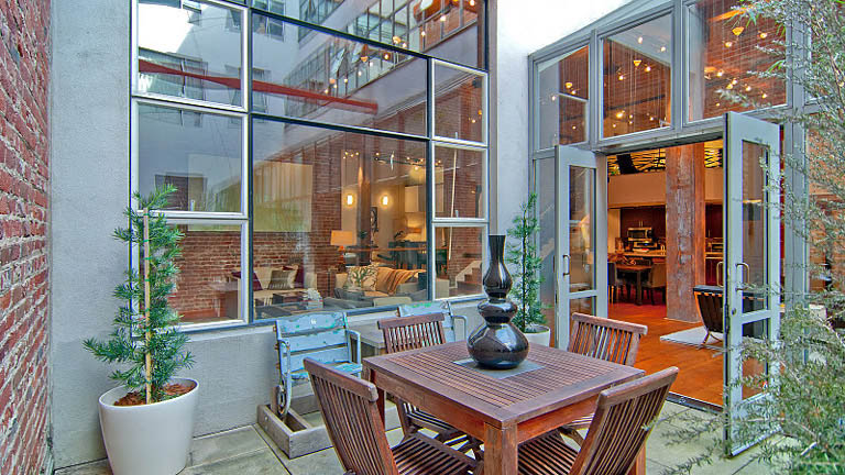 open concept hard loft exposed brick south beach san francisco 355 bryant 18 Stunning Open Concept Loft with Exposed Brick