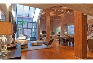 Stunning Open Concept Loft with Exposed Brick