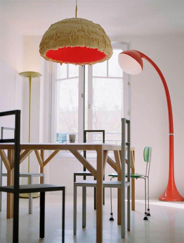 open concept loft bachelor apartment with hanging bedroom ecdm valentin 19 Unique Loft Space with Hanging Bedroom