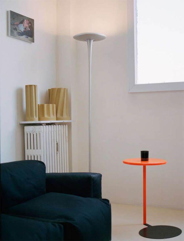 open concept loft bachelor apartment with hanging bedroom ecdm valentin 3 Unique Loft Space with Hanging Bedroom