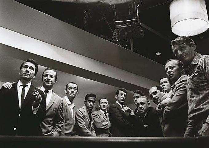 original oceans 11 cast rat pack The Most Epic Group Photos You Will See Today