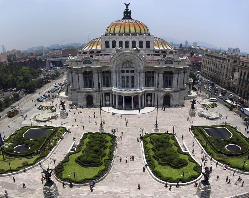 palacio de bellas artes 25 Incredible Concert Halls Around the World