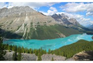 Picture of the Day: Glacier-Fed Peyto Lake in Banff