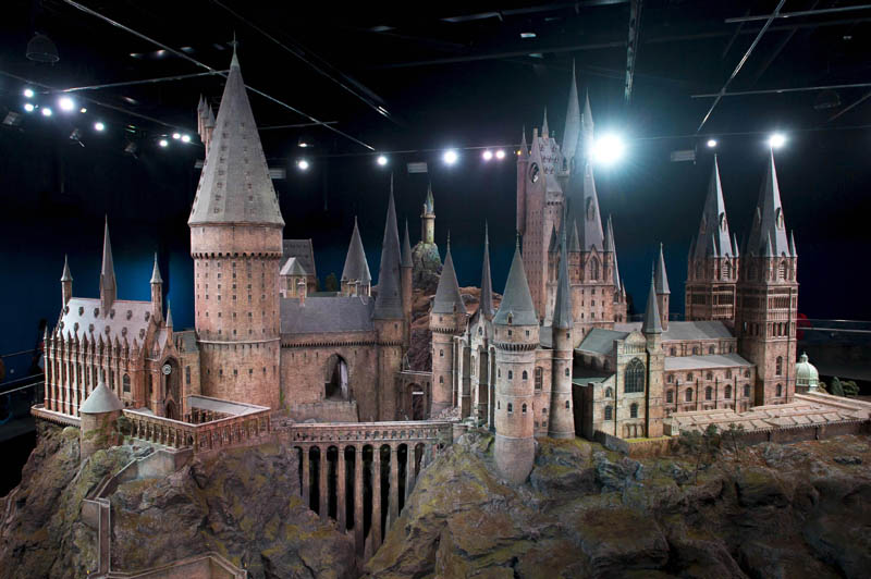 real life hogwarts castle scale model 7 The Real Life Hogwarts Castle Revealed