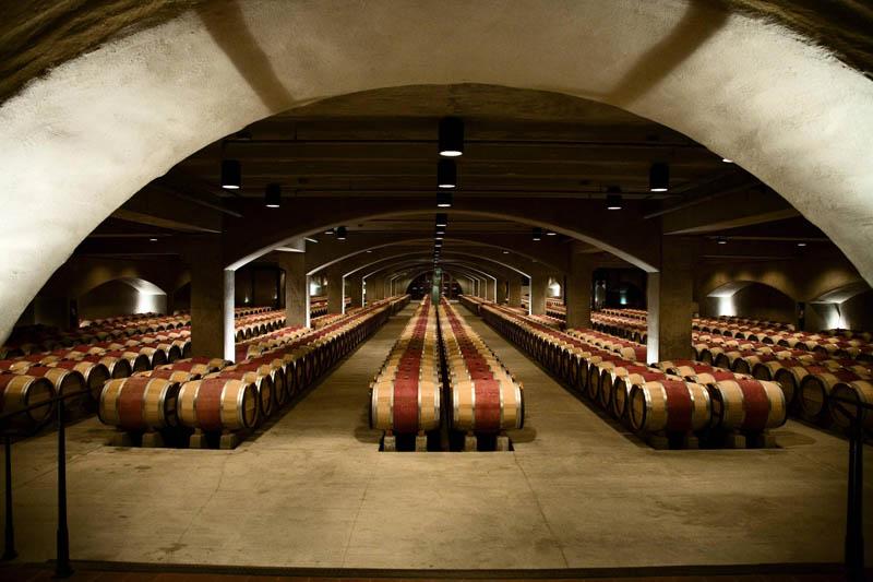 robert mondavi wine cellar napa valley california Picture of the Day: The Robert Mondavi Wine Cellar in Napa Valley